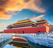 royal palaces of the Forbidden City in Beijing,China