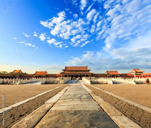 Foto op Plexiglas Peking royal palaces of the Forbidden City in Beijing,China