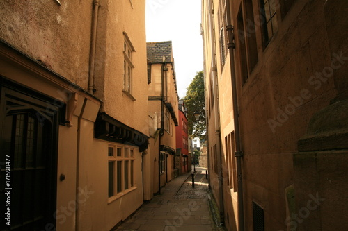 Foto op Canvas Smal steegje Highlights from Oxford, UK