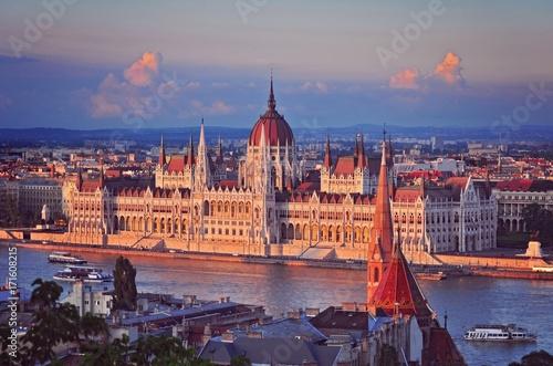 Budapest Parliament Poster