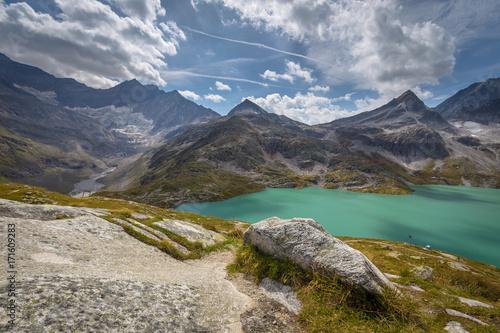 Weiss See Weißsee Gletscherwelt Austria - 171609283
