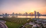 Sharja skyline Dubai UAE