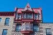 Montreal, Canada: Old vintage architecture in Chinatown