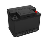 Car Battery Isolated - 171652639