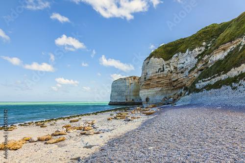 Aluminium Landschappen Beach in Normandy