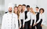 Portrait Of Restaurant Staff - 171684800