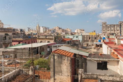 Dächer von Havanna, Cuba Poster