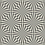 Seamless Optical Illusion Background. Vector Square and Stripe Texture - 171703815