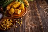 Boiled corn - 171717440