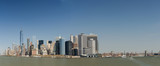 Panorama der Skyline von New York City