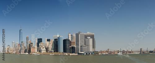 Papiers peints New York Panorama der Skyline von New York City