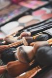 Makeup tools closeup - 171742099