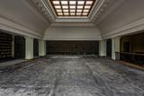 Antique File / Magazine Holders & Glass Skylight - Abandoned Courthouse - 171752671