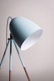 Table lamp in turquoise colours. - 171763803