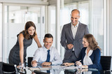 Businesspeople in meeting room - 171768077