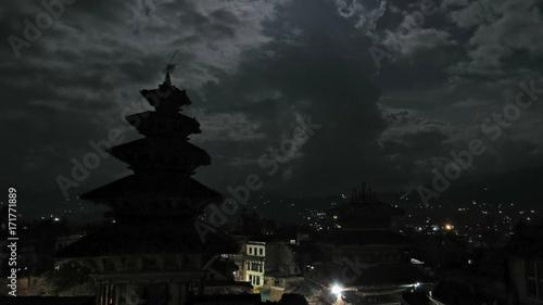 Foto op Aluminium Nacht snelweg nepal