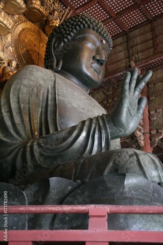 Foto op Canvas Boeddha grand bouddha vairocana nara