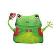 frog with hat