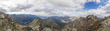 Panoramic view on high Tatra Mountains, Slovakia, Europe