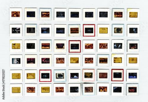 Poster Retro 35mm analog film slide artistic