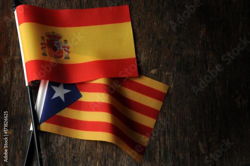 Poster Barcelona Catalunya Catalonha Cataluña Catalogna Catalonia Española Barcelona Katalonien Flag Catalogne Bandiera Katalonija Catalonië Katalonia Madrid Catalunha Referendum Bandera Spanish Catalonien España