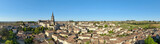 Saint-Emilion, vue générale,  panorama, Gironde, France