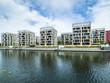 Deutschland, Hessen, Region Frankfurt am Main, Offenbach, moderne Architektur, Hafen Ofenabch, Hafen 2