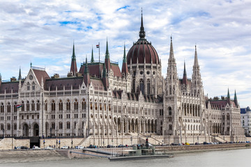 Parlament in Budapest, Ungarn