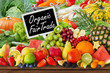 Fruits and vegetables -  Organic and Fair Trade - 171882439