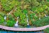 Waterfalls in the Plitvice Lakes National Park - 171892685