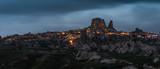 blue hour in Cappadocia