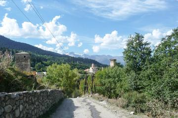 Svaneti Georgia Country Road