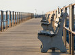 Pier with Benches