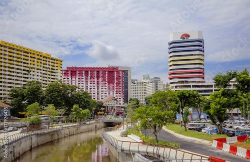 Сингапур.  Городской пейзаж. Poster
