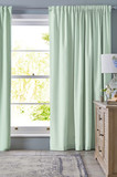 Room window with curtains. Interior hotel room - 171936676