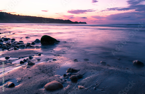 Foto op Aluminium Lichtroze Peaceful Seascape
