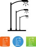 Street Lights Icon - Illustration - 171967216