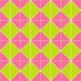 Pink and green geometric pattern background