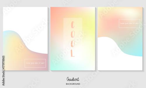 Pink,blue,orange,yellow gradient coloful background - 171978863