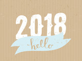 2018 Greeting Card Template - 171987804