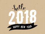 2018 Greeting Card Template - 171988020