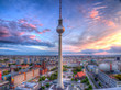 Berlin Cityscape and TV Tower