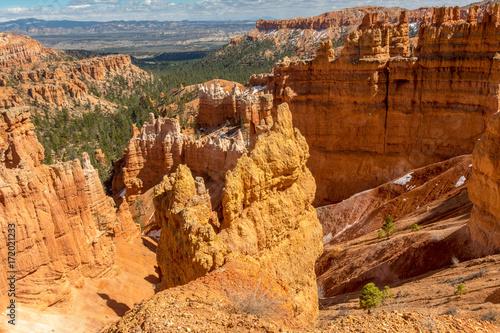 Bryce Canyon National Park, Utah, Hoodoos, Spires Pinnacles, Red Rock