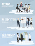Vector collection of business people - 172025031