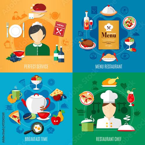 Restaurant 2x2 Design Concept - 172043268