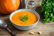 Pumpkin soup - 172062030