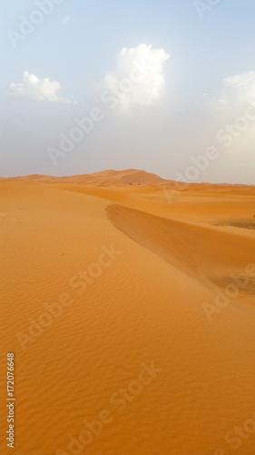 Spoed canvasdoek 2cm dik Marokko deserto marocco