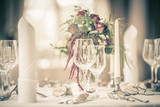 Edle Tischdekoration vintage Look - 172127002