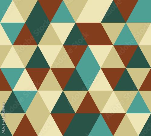 Fototapeta vector triangle seamless pattern