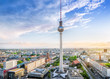 panoramic view at berlin city center